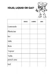 11 best images of solids liquid gases elementary worksheets