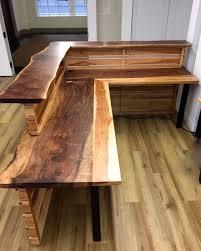 Wood Reception Desk Uncategorized Rustic Reception Desk Within Amazing Furniture