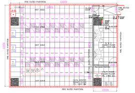 Data Center Floor Plan by Contoh Design Data Center