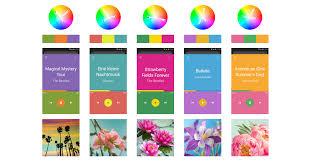 best three color scheme for ui design u2013 design code and prototyping