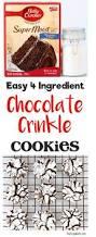 kahlua chocolate crinkle cookies recipe chocolate crinkle