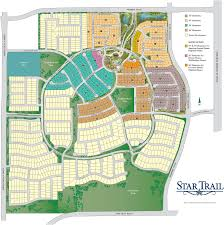 Katy Trail Dallas Map by New Home Community Information Star Trail Prosper Texas 75078