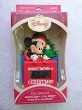 hallmark disney mickey mouse countdown to ornament ebay