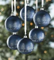 crackle glass ornaments set of 4 decorating the tree