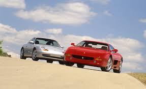 porsche ferrari 1999 porsche 911 carrera tiptronic s vs 1999 ferrari f355 f1