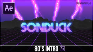 tutorial after effect bahasa after effects tutorial 80 s style retro intro adobe after effects