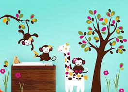 ideen kinderzimmer wandgestaltung süße grüne wanddeko babyzimmer playrooms