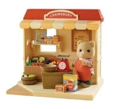 Sainsburys Bathroom Accessories by Sylvanian Families Sainsbury U0027s Grocery Shop Amazon Co Uk Toys