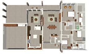 modern house layout floor plan contemporary courtyard floorplan modern house layouts