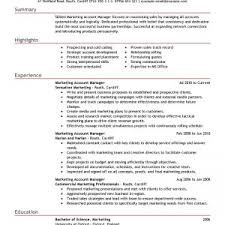 resume format for account managers salary cover letter advertising manager job description advertising