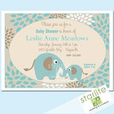 baby shower invitations elephants kellymedina elephant blue invite