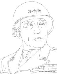 coloring pages general george patton coloring page coloring