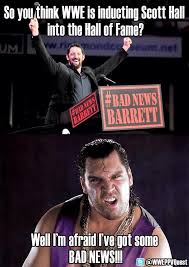 Bad News Barrett Meme - the stro wrestling network fan page home facebook