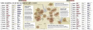 Wichita Zip Code Map Cover Story Tracking Dfw U0027s Wealthiest And Fastest Growing Zip