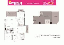 unit 410 411 u0027sea temple resort u0027 triton street palm cove qld