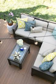 Outdoor Patio Furniture Atlanta by How To Lay Deck Flooring On A Concrete Patio
