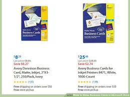 Business Card In Word Make Business Cards In Microsoft Word Fragmat Info