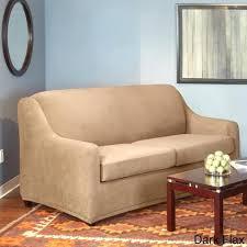 2 Piece Stretch Sofa Slipcover Maytex 1 Piece Sofa Slipcover Centerfieldbar Com