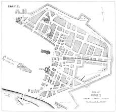 Rouen France Map by The Story Of Rouen