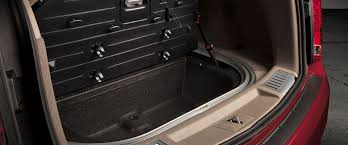 cadillac srx cargo space fold the rear seats to reveal more than 60 cu ft of maximum