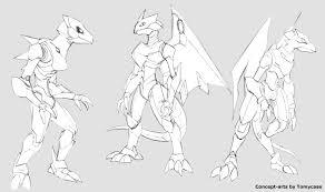 anthro robot dragon sketches by zohaku on deviantart