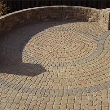 Circular Paver Patio Creek Hardscapes Pavers Denver Gallery Of Brick Paver Designs