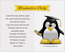 invitation greetings graduation party invitation wording wordings and messages