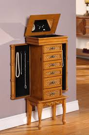 brown jewelry armoire nathan direct mandalay bay light brown jewelry armoire j1003arm m lb