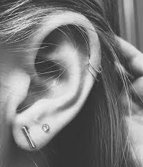 hoop earring on cartilage cartilage hoops fashion cartilage hoop