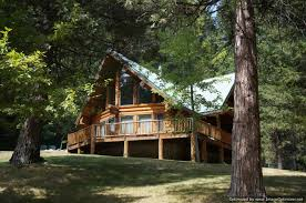 lovely open floor plan cabins 4 northern california log cabins