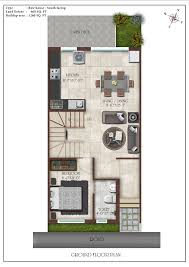 house plan Row House Floor Plans 1500 Square Foot