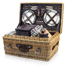 picnic basket for 4 picnic time carnaby basket charleston colletion