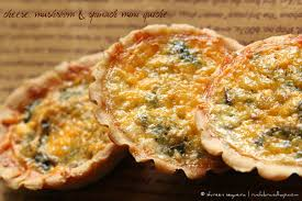 quiche cuisine az cheese spinach mini quiche ruchik randhap