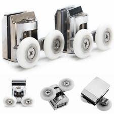 Replacement Shower Door Runners 4 Shower Door Rollers Runners Wheels Replacement Parts A323 Ebay