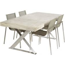 Cement Home Decor Ideas by Amazing Cement Dining Table 97 For Your Modern Home Decor