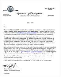 letter for administrative position in education