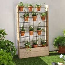 fabriquer cache poubelle atelier création fabriquer un mur végétal d u0027extérieur 1h30 2h