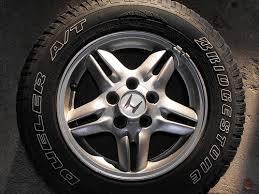 1999 honda crv rims 1999 cr v ex awd tires