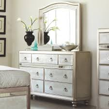 Bedroom Dresser With Mirror by Coaster Bling Game Dresser With 7 Drawers And Stacked Bun Feet And