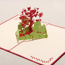 wishing tree cards new 3d handmade card the wishing tree creative s day