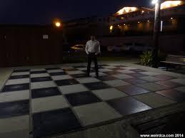 giant chess set weird california