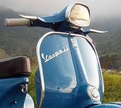 321 best blue paint vintage vespa scooters images on pinterest