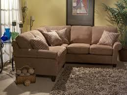 Flexsteel Curved Sofa by Flexsteel Westside Casual Style Sectional Leather Sofa Wayside
