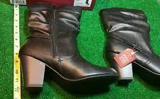 s heel boots size 11 faded s fashion wedge heel boots size 11 grey ebay