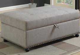 Ottoman Sleepers Rustic Fabric Hide A Way Bed And Sleeper Sofas