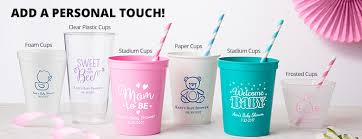 personalized baby shower cups personalized baby shower products
