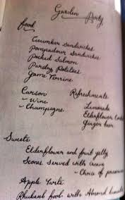 Titanic Second Class Menu by Continue Reading