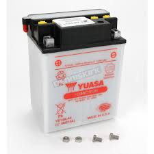 yuasa yumicron high powered 12 volt battery yb14a a2 atv