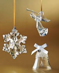 anniversary ornament swarovski 25th anniversary limited edition snowflake christmas