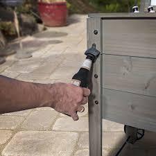 backyard discovery barnstain outdoor patio cooler walmart com